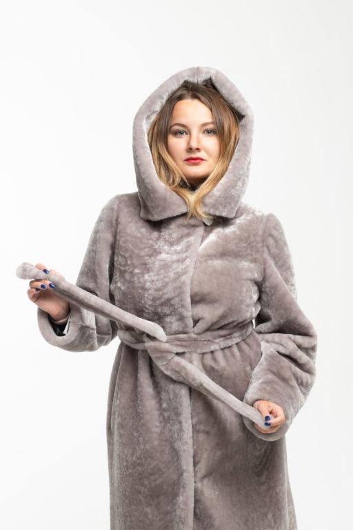 Шуба овчина мутон №300
